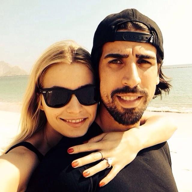 عکسهای سامی خدیرا و همسرش | WwW.BestBaz.IR