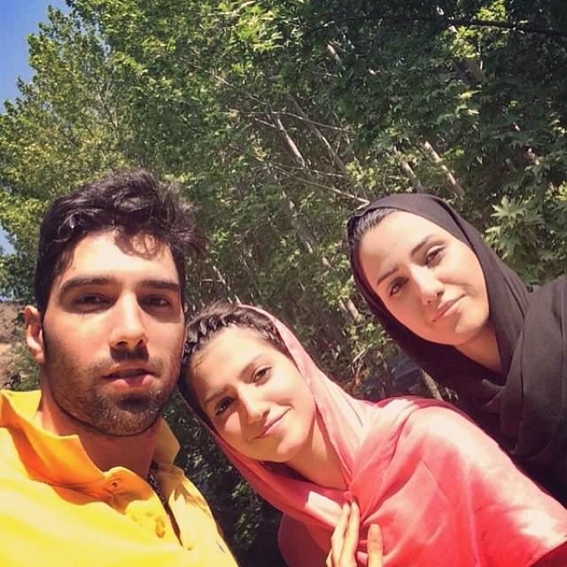 عکس سید محمد موسوی و خواهراش