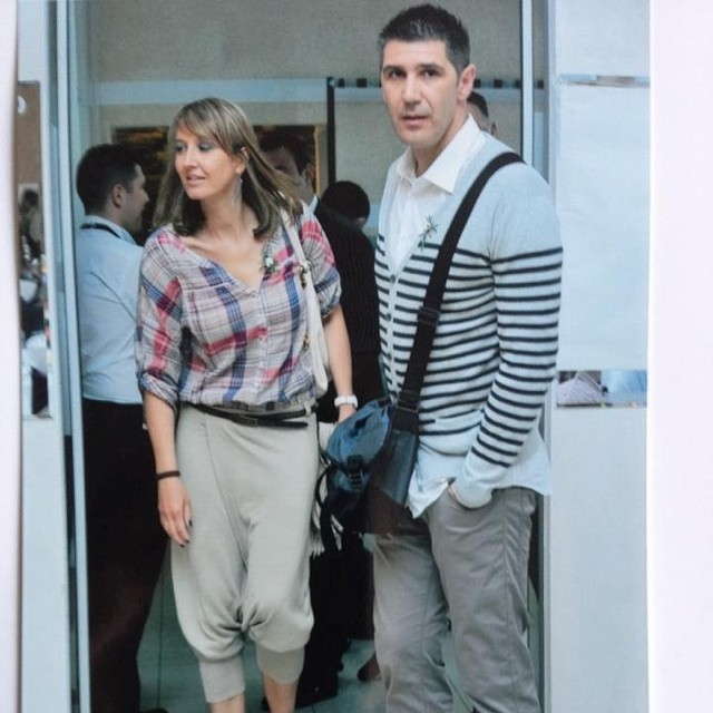 عکسی از اسلوبودان کواچ و همسرش | WwW.BestBaz.IR