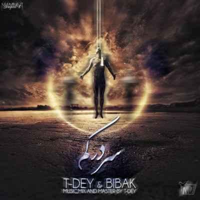 تکست آهنگ سردرگم از محمد بیباک و T-Dey | WwW.BestBaz.IR